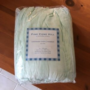 Pine Cone Hill 100% Linen Stone Washed Bedskirt